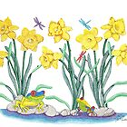 Daffodil Parade by Judy Newcomb