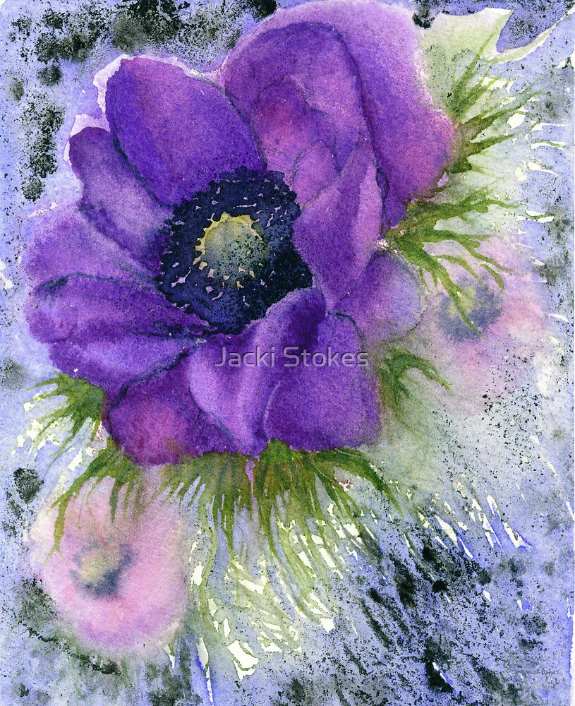 Anemone (Original sold) by Jacki Stokes