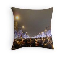 New Years Eve (with a few friends) Throw Pillow