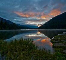 Lightning Lake by Peter Luxem