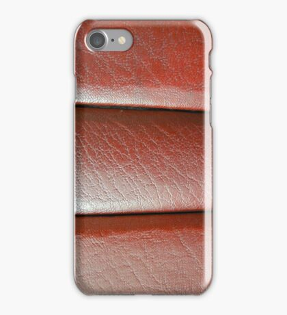 Leather Panels iPhone Case/Skin