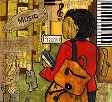 Urban Music Student by © Angela L Walker