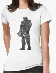 Pixel Brother of Steel Paladin Womens Fitted T-Shirt