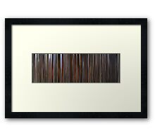 Moviebarcode: Barry Lyndon (1975) Framed Print