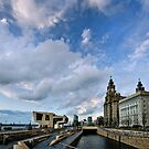 Liverpool Waterfront by Michelle McMahon