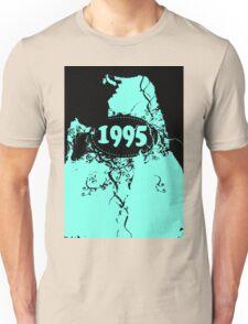 1995 Blue, black retro vintage T-shirt Unisex T-Shirt