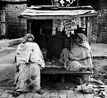 Street Stall II by Mark Smart