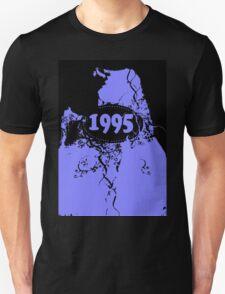 1995 Purple, black retro vintage T-shirt T-Shirt