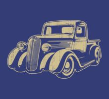 Cool Truck Graphic Art - Dark Shirt by KlassicKarTeez