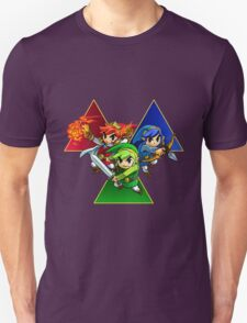 Zelda Triforce Heroes Three Links T-Shirt