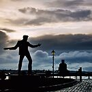 Billy Fury Statue.. by Michelle McMahon