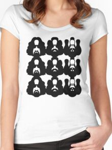 M.C. LEBOWSKI Women's Fitted Scoop T-Shirt