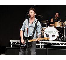 Danny Jones [McFly]; Live Print. 13th August 2011. Photographic Print
