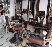 Hairdresser's Shop - Peluquería by Bernhard Matejka