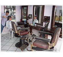 Hairdresser's Shop - Peluquería Poster