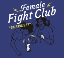 Female Fight Club by AJ Paglia