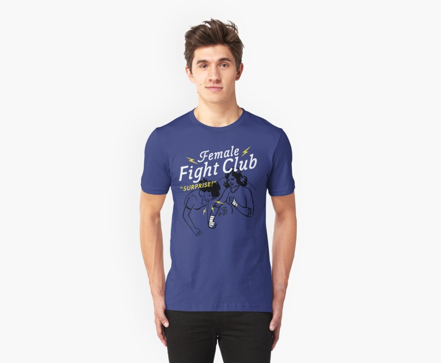 Female Fight Club by AJ Paglia