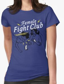 Female Fight Club Womens Fitted T-Shirt