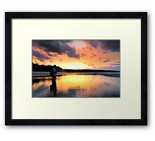 Benjamin's Sunset - Stradbroke Is. Qld Australia Framed Print