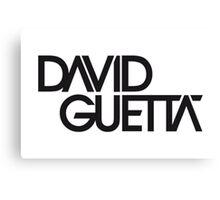 David Guetta Canvas Print