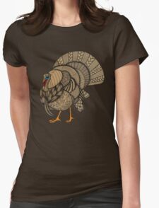 Turkey Womens Fitted T-Shirt
