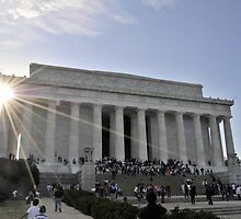 Lincoln Memorial by Tazz Anderson