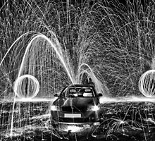 Fountain of sparks by yampy