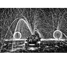 Fountain of sparks Photographic Print