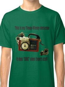 Timey-Wimey Detector Classic T-Shirt