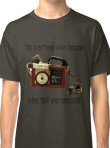 Timey-Wimey Detector Classic T-Shirt