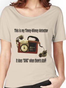 Timey-Wimey Detector Women's Relaxed Fit T-Shirt