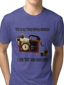 Timey-Wimey Detector Tri-blend T-Shirt