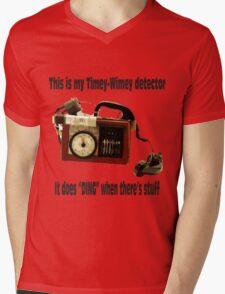 Timey-Wimey Detector Mens V-Neck T-Shirt