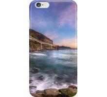 Sea Cliff Bridge at Dawn iPhone Case/Skin
