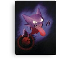Pokemon - Haunter used Shadowball! Canvas Print
