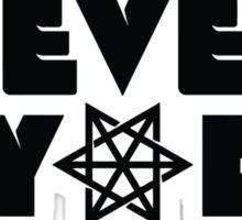 Never Say Die | Logo Sticker