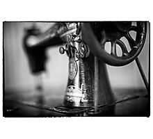 Vintage Singer Sewing Machine Photographic Print