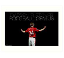 Football Genius Art Print