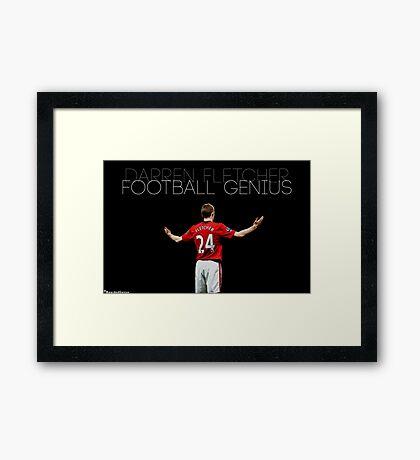 Football Genius Framed Print