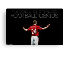 Football Genius Canvas Print