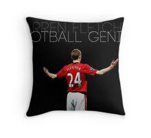 Football Genius Throw Pillow