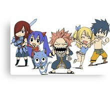 Fairytail chibi Canvas Print