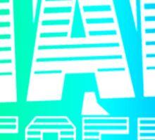 Mad Decent | Logo | Blue/Green Sticker