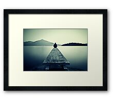 Our Time is Brief Framed Print