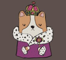 Queen Corgi One Piece - Short Sleeve