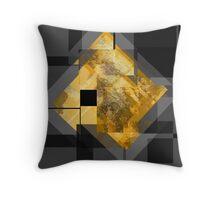 Black Gold... Throw Pillow