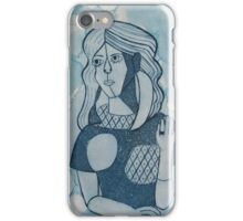 Girl in the Mirror Inspired Blue Version iPhone Case/Skin