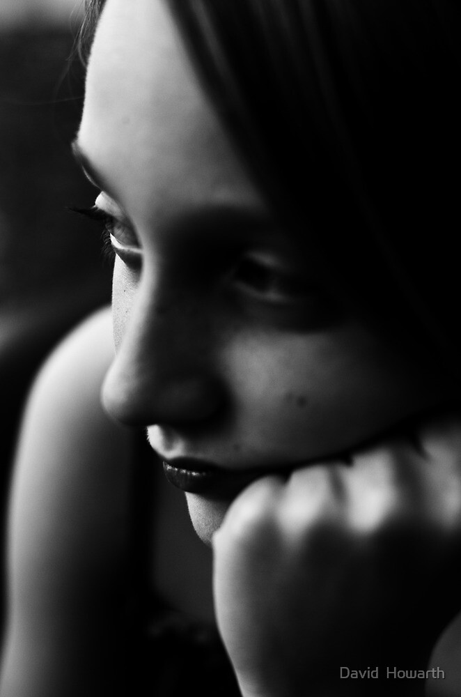 Alone in Her Thoughts! by David  Howarth