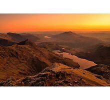 Snowdon Sunrise Photographic Print