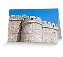 stone turret Greeting Card